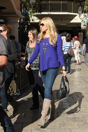 Laura Prepon at The Grove in Los Angeles on January 5, 2012