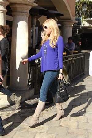 Laura Prepon at the Grove in LA