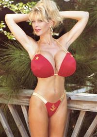Pandora Peaks in a bikini