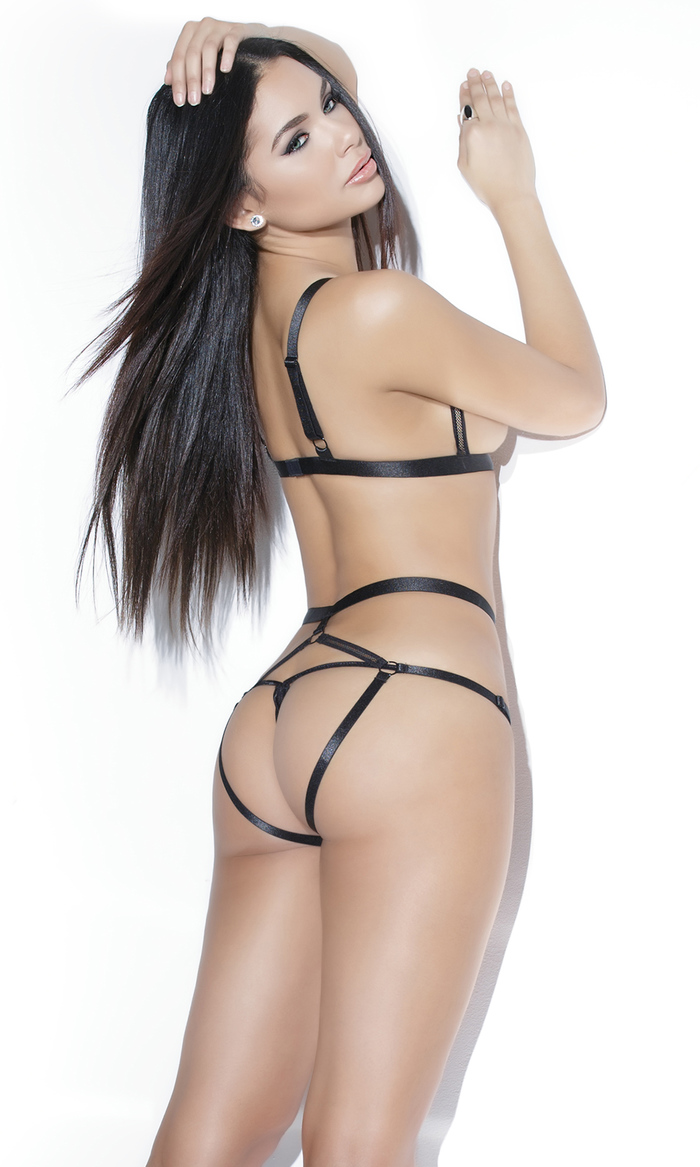 Jamillette Gaxiola in lingerie - ass