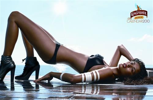 Ashika Pratt in lingerie