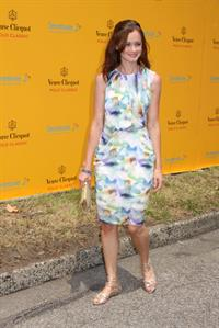 Alexis Bledel at the 2010 Veuve Clicquot Manhatten Polo Classic on June 27, 2010