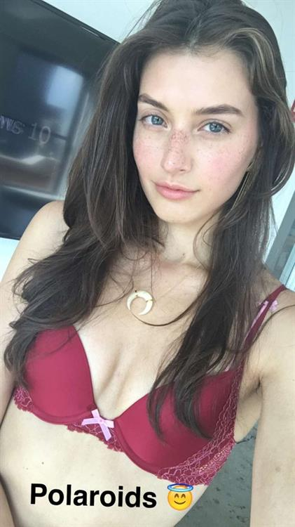 Jessica Clements in lingerie