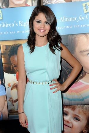 Selena Gomez at the 3rd annual Right to Laugh in Los Angeles June 12, 2012