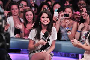 Selena Gomez visits New Music Live, August 24, 2011