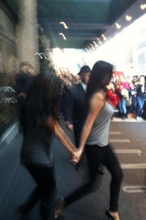 Selena Gomez arriving at her hotel in New York November 11, 2012
