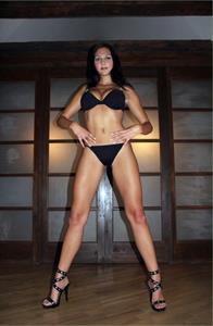 Jennifer Max in a bikini