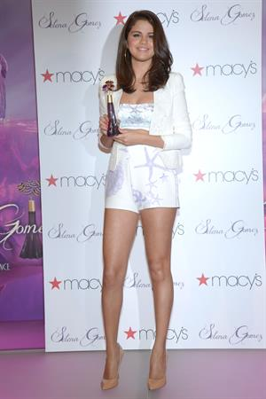 Selena Gomez at Her Perfume Launch at Macy's June 09, 2012