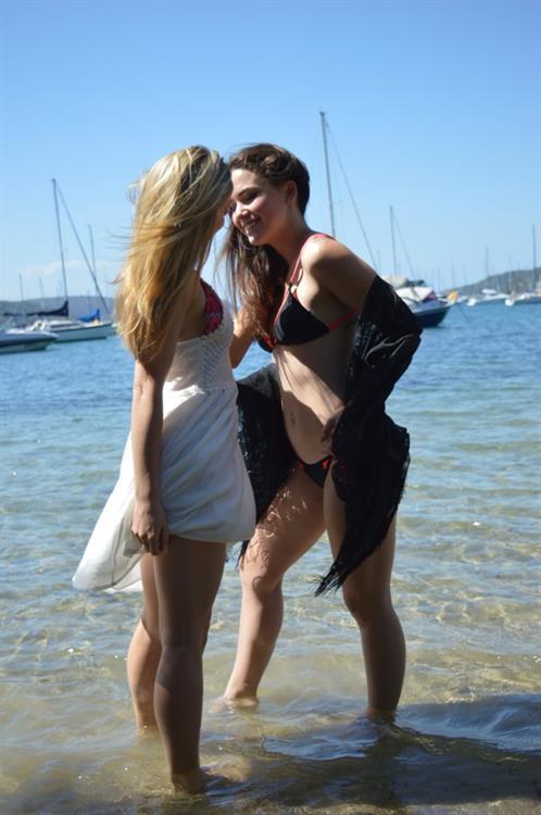 Alexis Young in a bikini