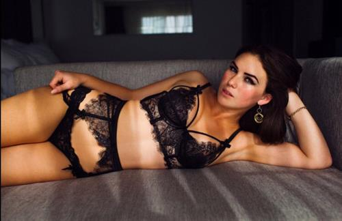 Alexis Young in lingerie