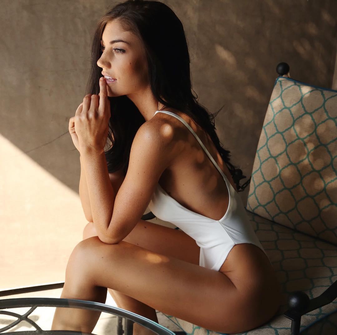 Christy May in a bikini