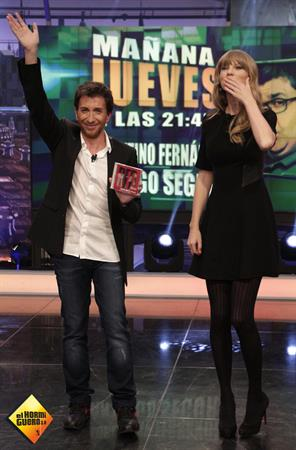 Taylor Swift on the Spanish TV Show 'El Hormiguero' January 23, 2013