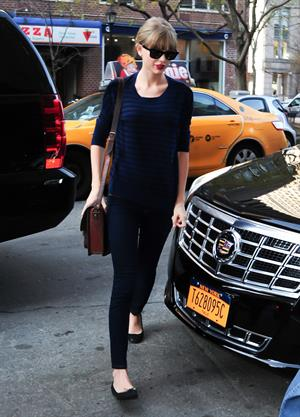 Taylor Swift out and about in New York March 12, 2012