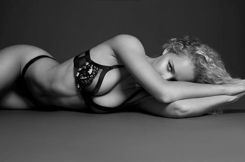 Allie Silva in lingerie