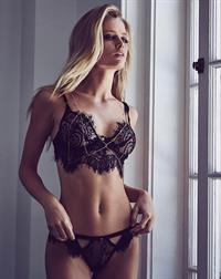 Allie Holton in lingerie
