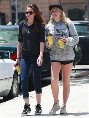Kristen Stewart out in Los Feliz 6/7/13
