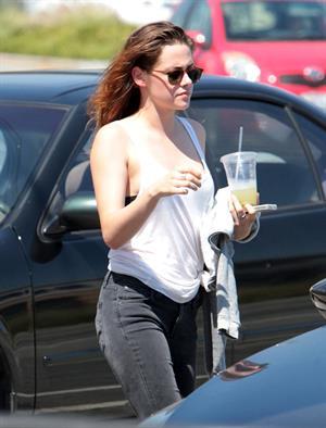 Kristen Stewart in Los Angeles (July 9, 2013)