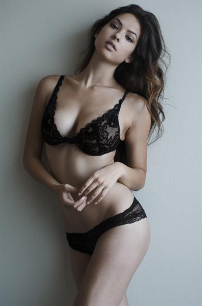 Christen Harper in lingerie