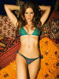 Sylvia Geersen in a bikini