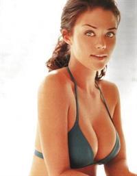 Susan Ward in a bikini