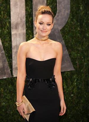 Olivia Wilde at the 2012 Vanity Fair Oscar party in West Hollywood on February 26, 2012