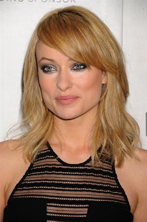 Olivia Wilde at the Deadfall Premiere during the 2012 Tribeca Film Festival April 22, 2012
