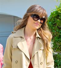 Olivia Wilde leaving her house in Los Angeles October 24, 2011