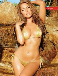 Jessica Burciaga in a bikini