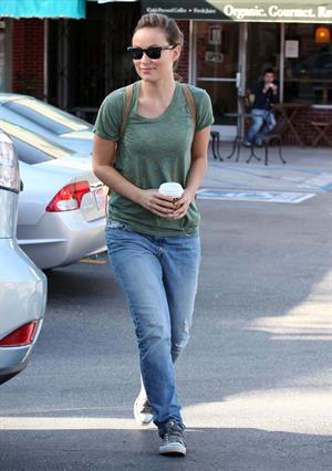 Olivia Wilde in Los Angeles March 2, 2012