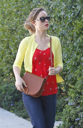 Olivia Wilde walking in Santa Monica on March 3, 2012