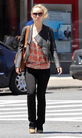 Olivia Wilde out in the west village May 19, 2012