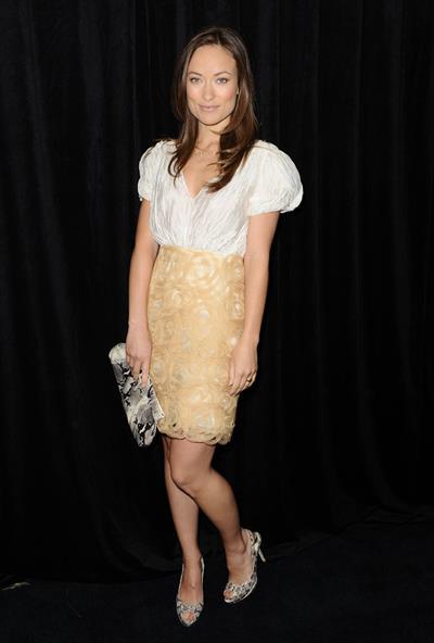 Olivia Wilde InStyles 9th annual awards season diamond 2010 Jan 14