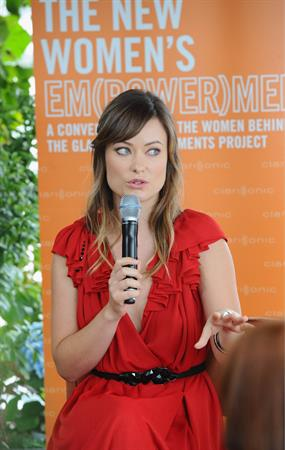 Olivia Wilde The new EM(POWER)MENT Lunch in West Hollywood - October 24, 2011