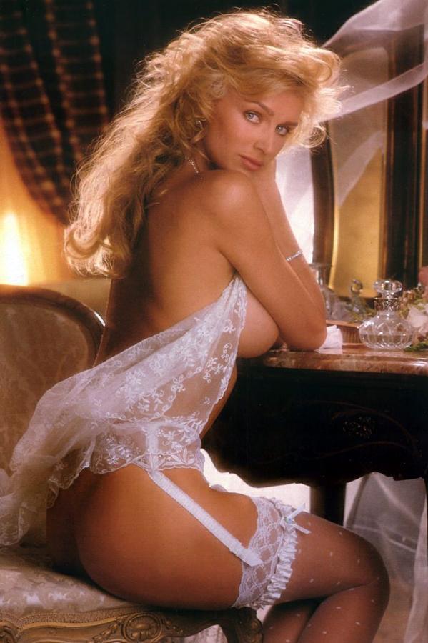 Kimberly Conrad Hefner in lingerie - ass