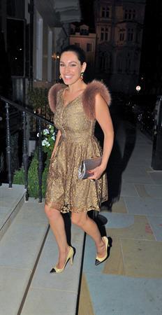 Kelly Brook leaving Morton's Club in London 8/18/12