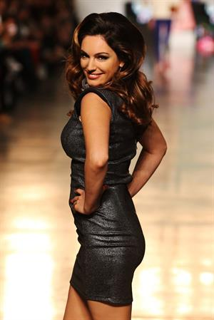 Kelly Brook  The Look Fashion Show 2012 in London 10/6/12