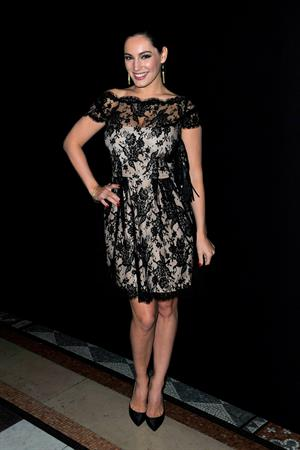 Kelly Brook - Philip Treacy fashion show in London - September 16, 2012