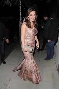 Kelly Brook Arriving home after Elton John Party - June 29, 2012
