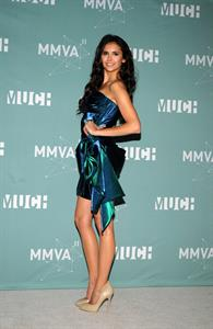 Nina Dobrev 22nd Annual Much Music Video Awards at the Much Music HQ on June 19, 2011
