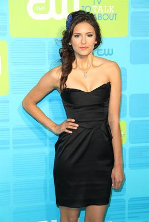 Nina Dobrev the CW Network upfront at Madison Square Garden on May 20, 2010