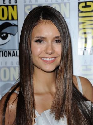 Nina Dobrev -  The Vampire Diaries  Press Room at Comic-Con 2012 in San Diego (July 14, 2012)