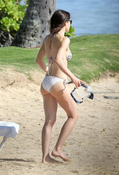 Jessica Biel in Hawaii on January 20, 2011