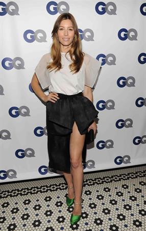 Jessica Biel – GQ Men of the Year Dinner 11/11/13