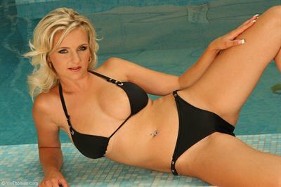 Darina in a bikini