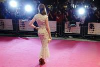 Anne Hathaway One Day European Premiere in London August 23, 2011