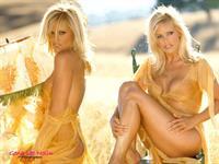 Gena Lee Nolin in lingerie - breasts
