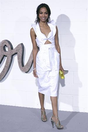 Zoe Saldana Chloe Los Angeles Boutique Opening Celebration April 23, 2009