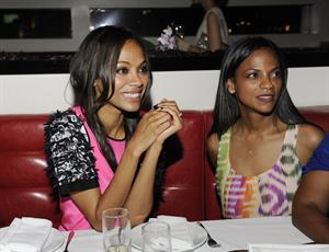 Zoe Saldana Flaunt Magazine and Gypsy 05 Present  The Neo-Golden Age  Hosted By Zoe Saldana on August 19, 2011