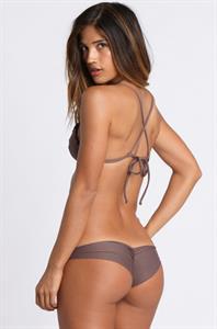 Rachel Barnes in a bikini - ass