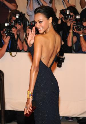 Zoe Saldana ''American Woman - Fashioning A National Identity'' Met Gala in NYC May 3, 2010